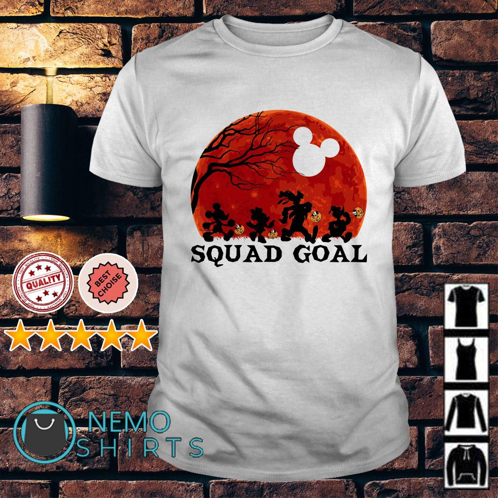 Mickey and Friends Squad Goals shirt