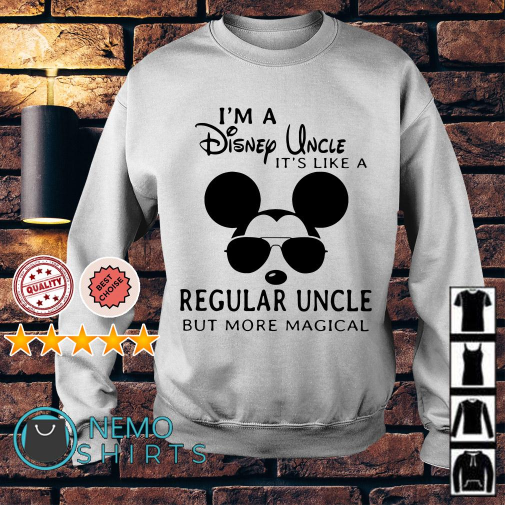 Mickey I'm a Disney Uncle it's like a regular uncle but more magical Sweater