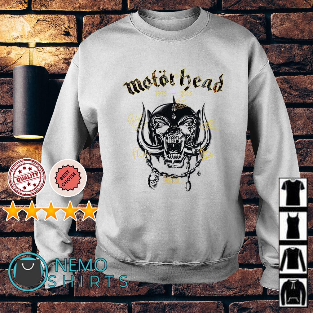 Motor Head 1975 2015 signature Sweater