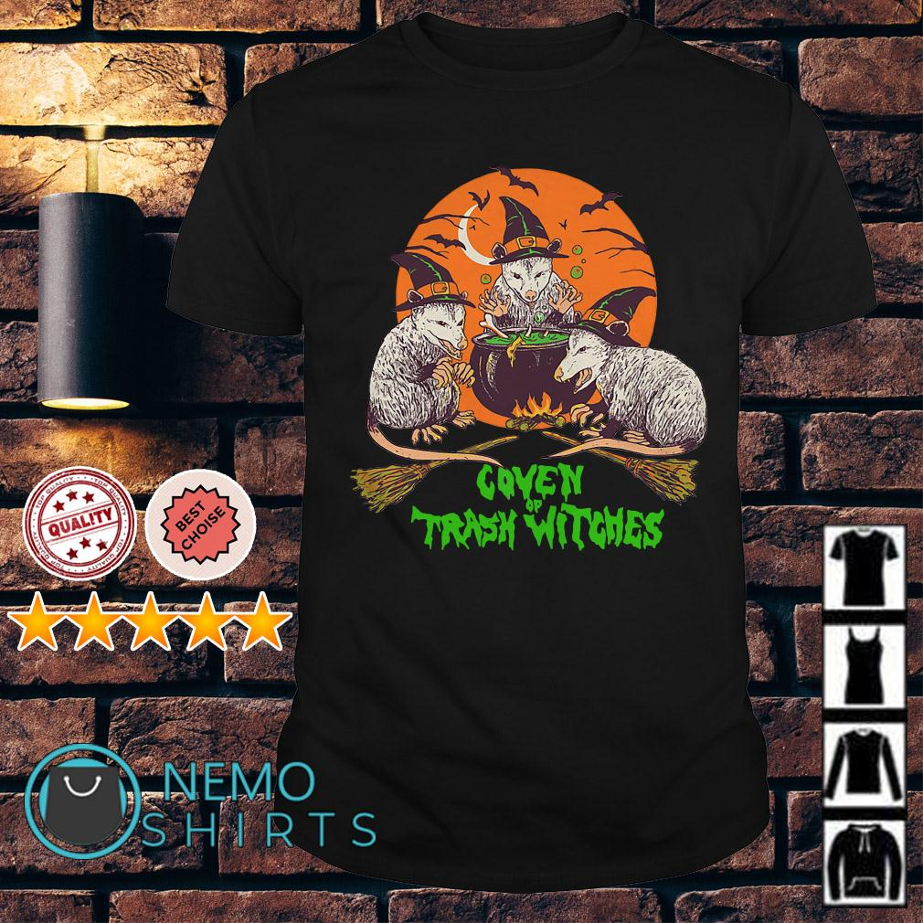 Rat Coven Of Trash Witches Halloween shirt