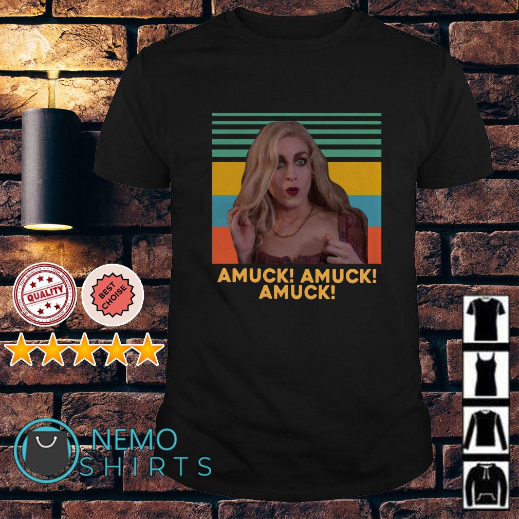 Sarah Sanderson amuck amuck amuck Hocus Pocus retro shirt