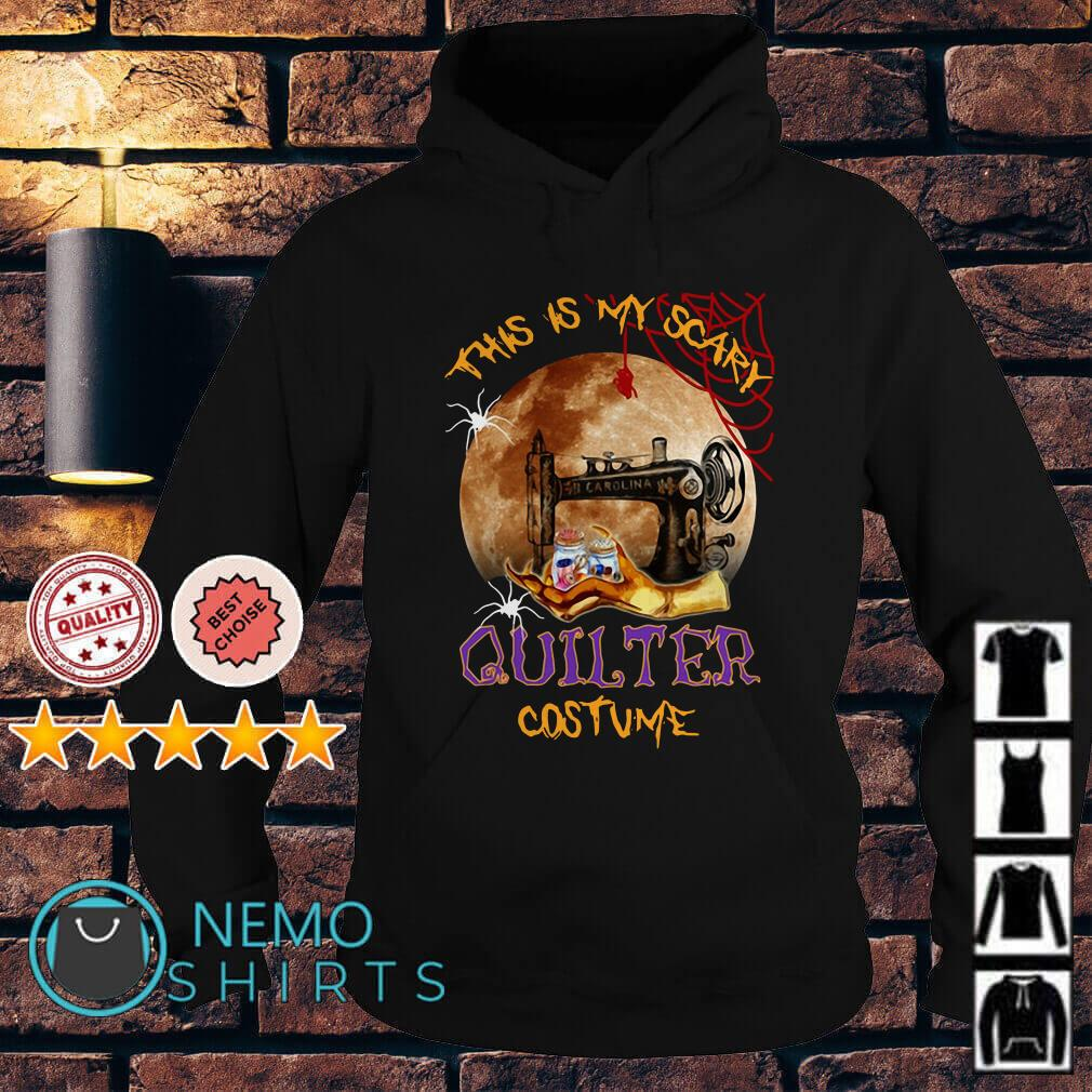 This is my scary quilter costume Halloween Hoodie