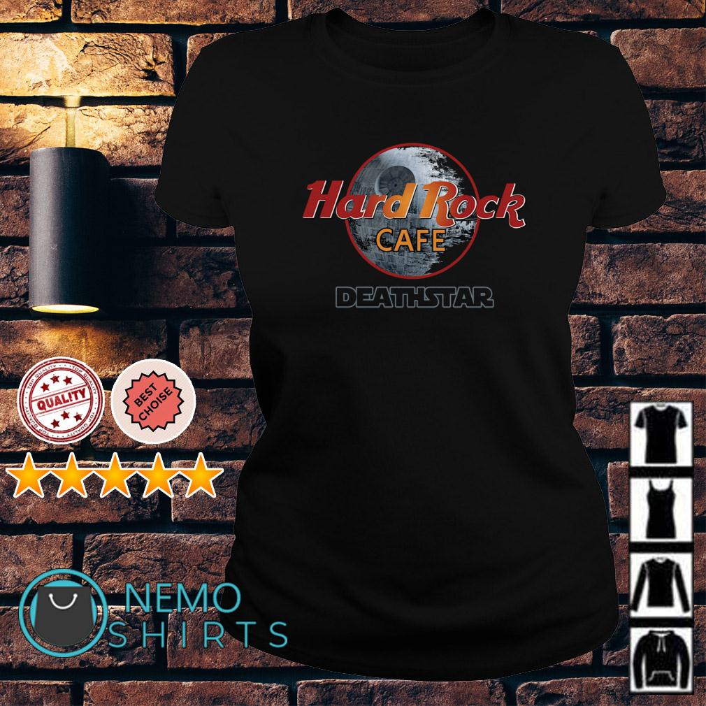 Star Wars Hard rock cafe Death Star Ladies tee