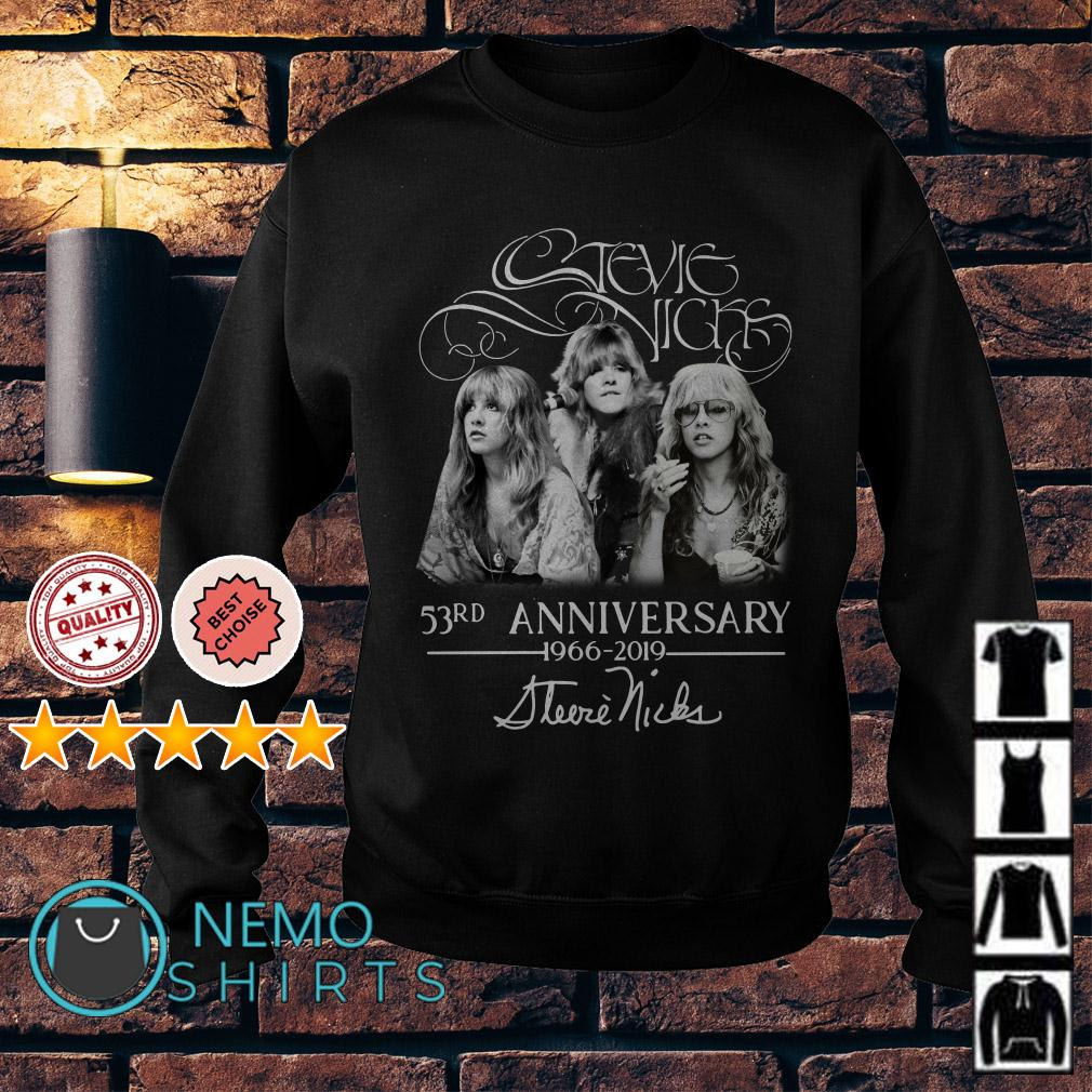 Stevie Nicks 53rd Anniversary 1966 2019 signature Sweater