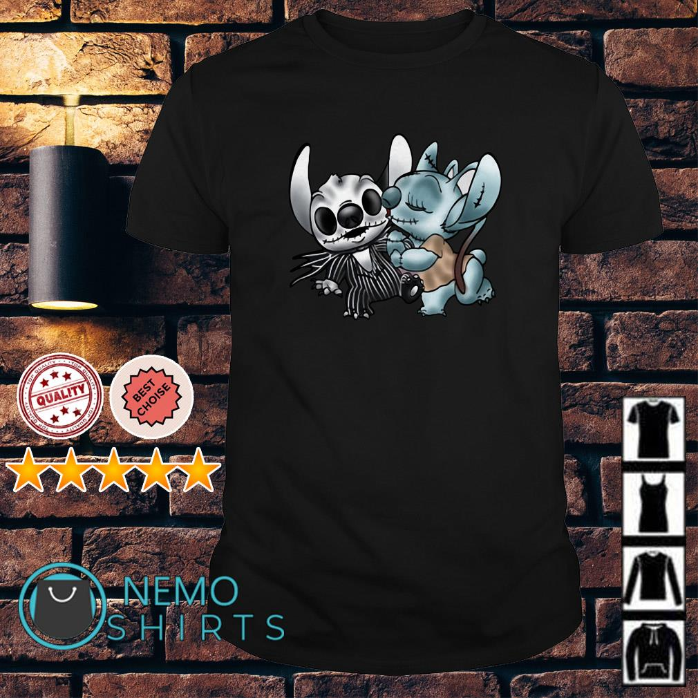 Stitch and Angel Nightmare Before Xmas shirt