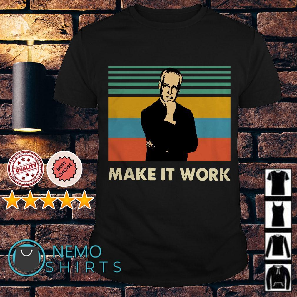 Tim Gunn make it work vintage shirt