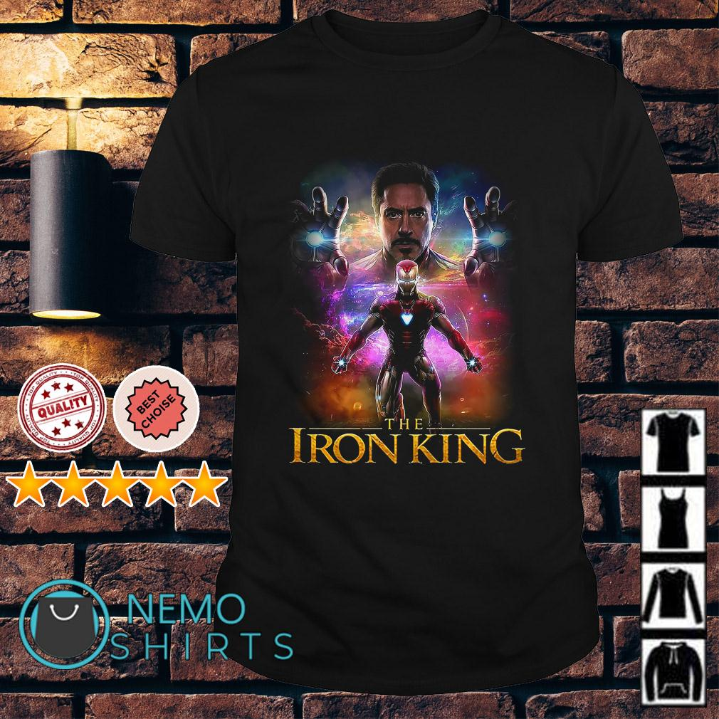Tony Stark Iron Man The Iron King shirt