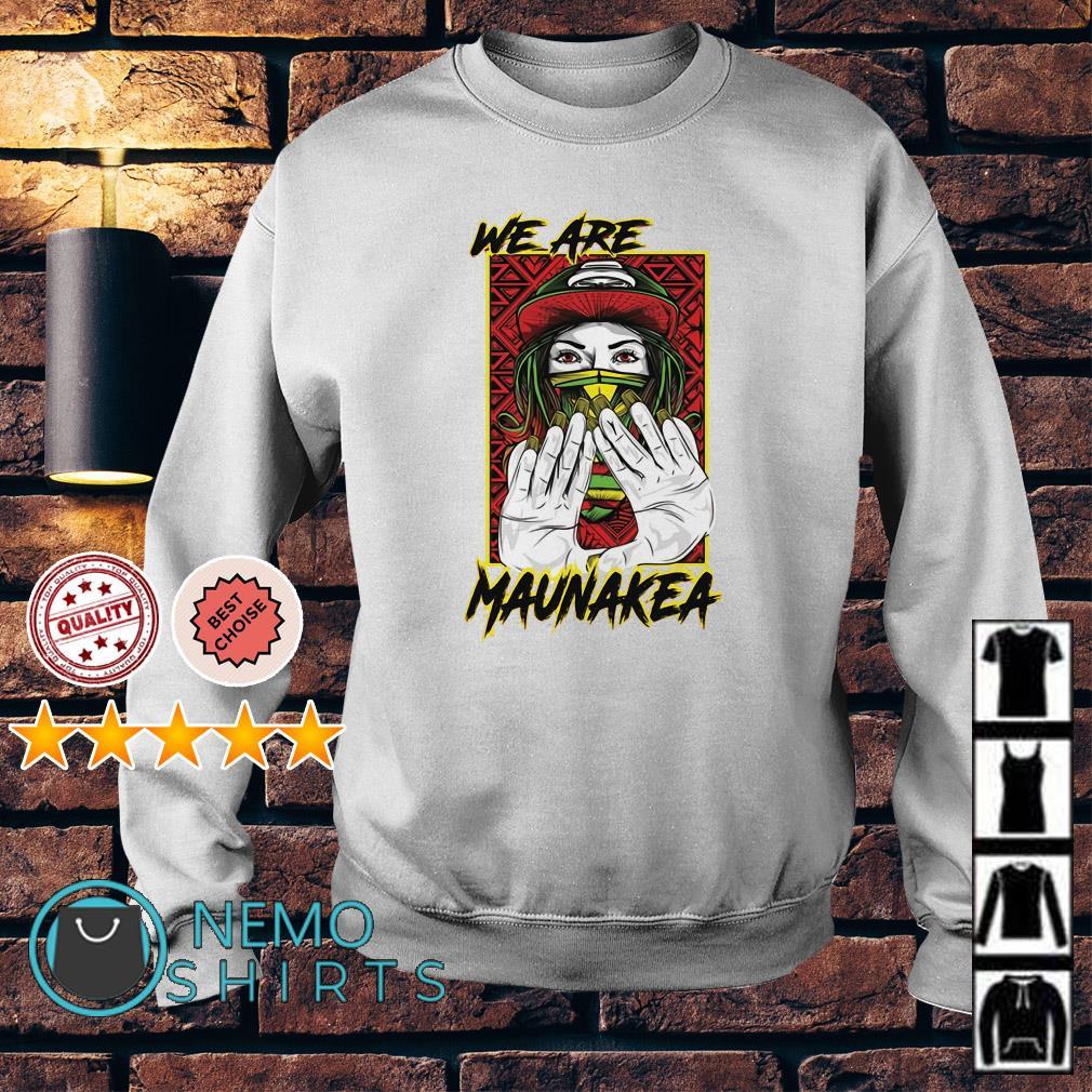 We are Maunakea Sweater