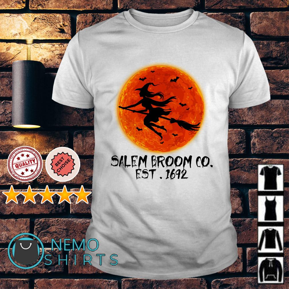 Witch salem broom co est 1692 shirt