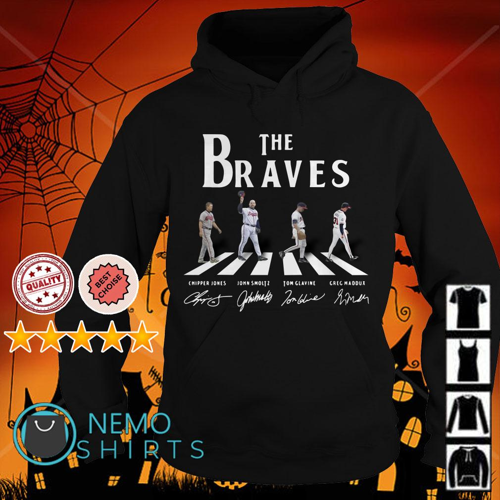 Abbey Road The Braves signature Hoodie