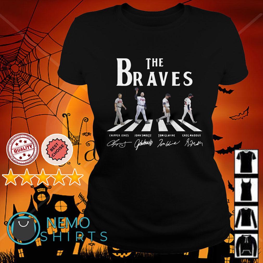 Abbey Road The Braves signature Ladies tee