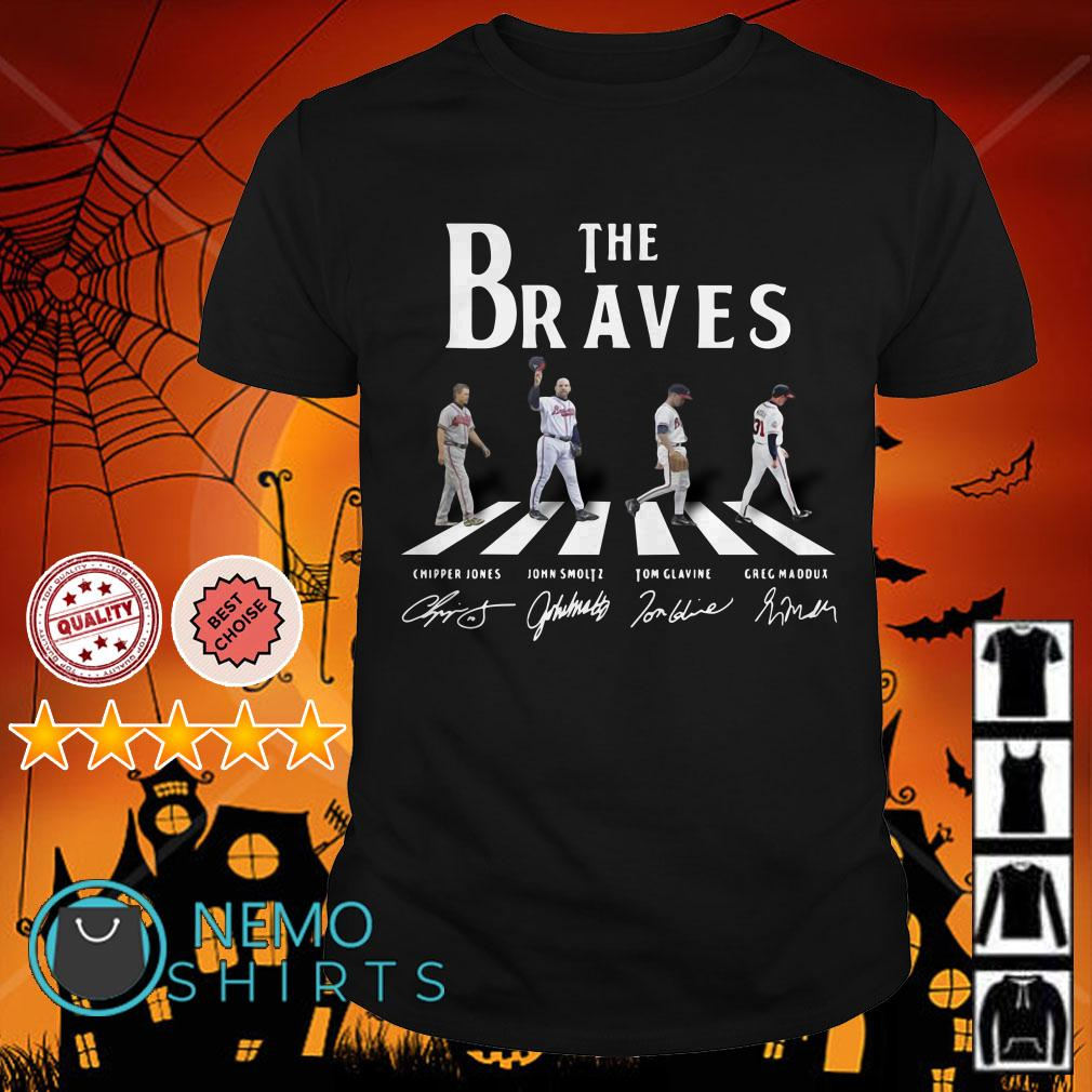 Abbey Road The Braves signature shirt