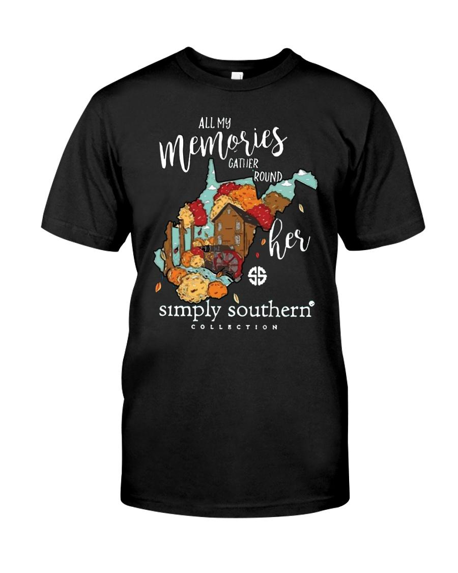 All memories gather round her simply Southern collection shirt