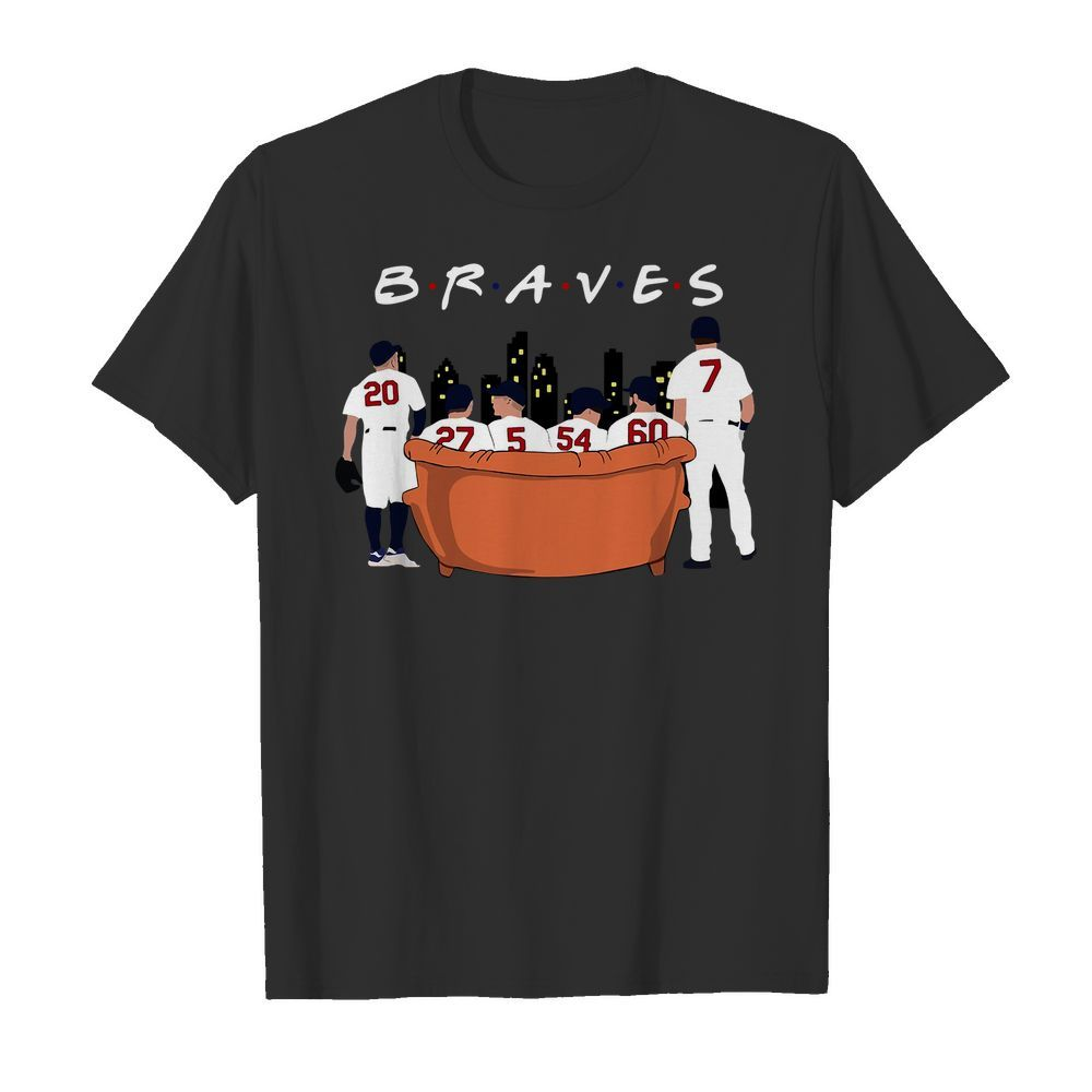 Atlanta Braves Friends TV show shirt