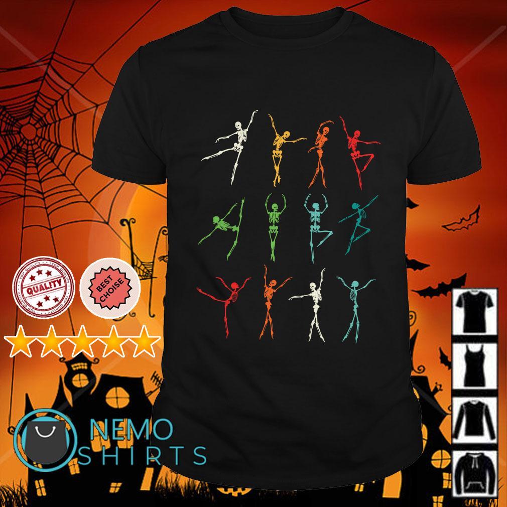 Ballet skeleton retro shirt