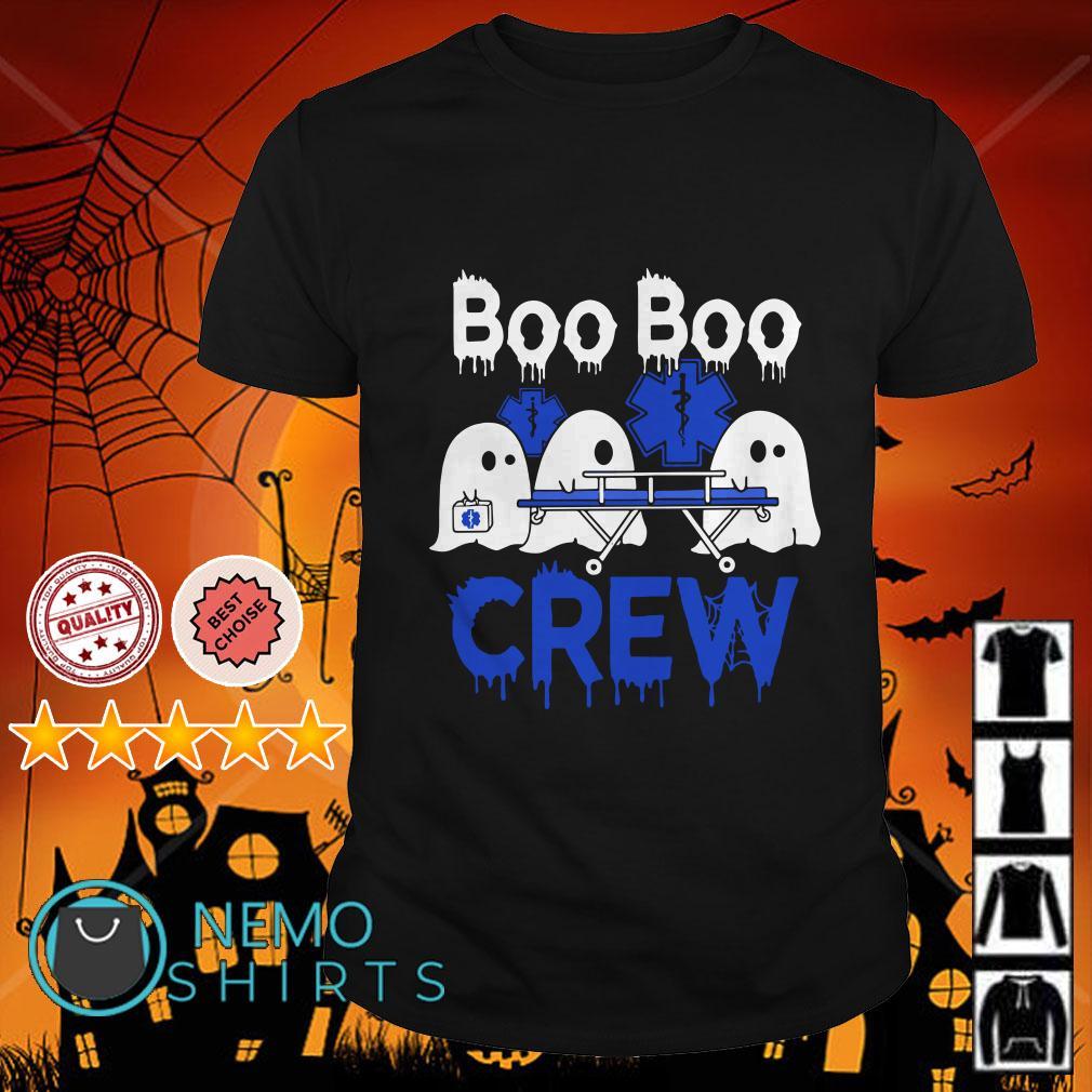 Boo Boo Crew Star Of Life White Halloween shirt