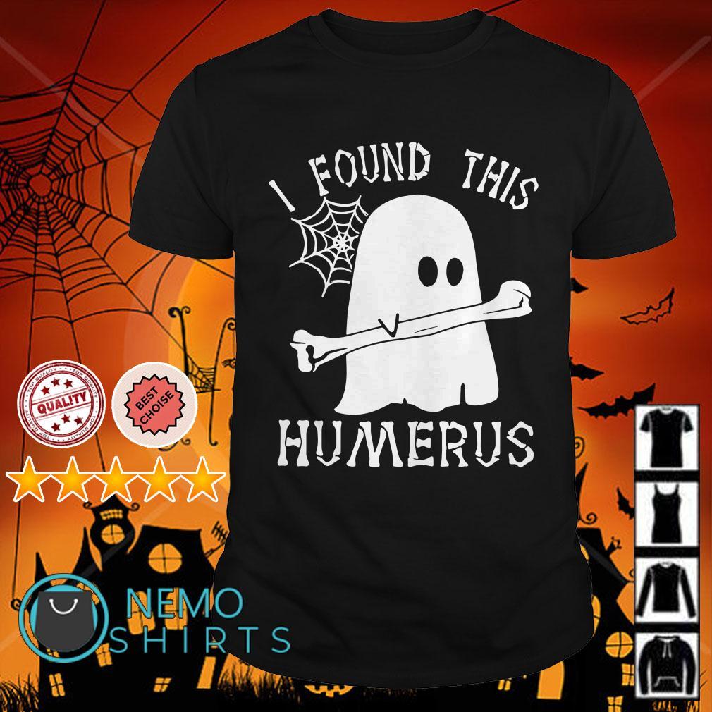 Boo I found this humerus Halloween shirt