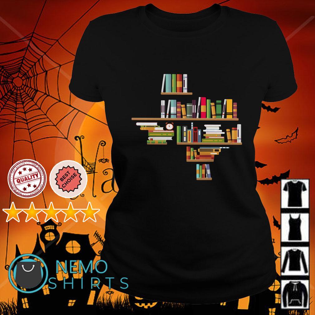 Bookshelf Texas Ladies tee