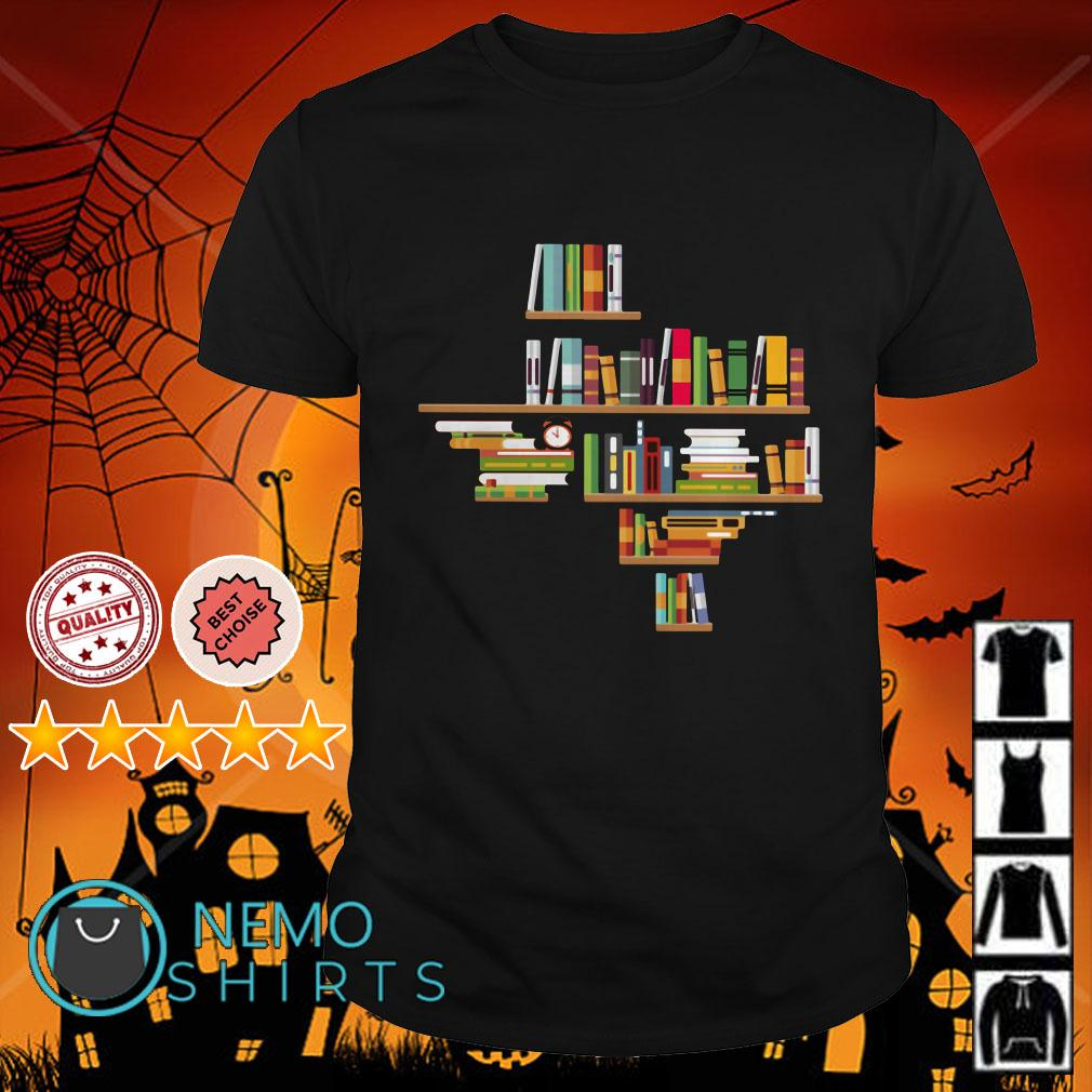 Bookshelf Texas shirt