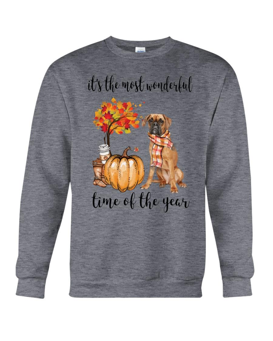 Boxer and pumpkin it's the most wonderful time of the year Sweater