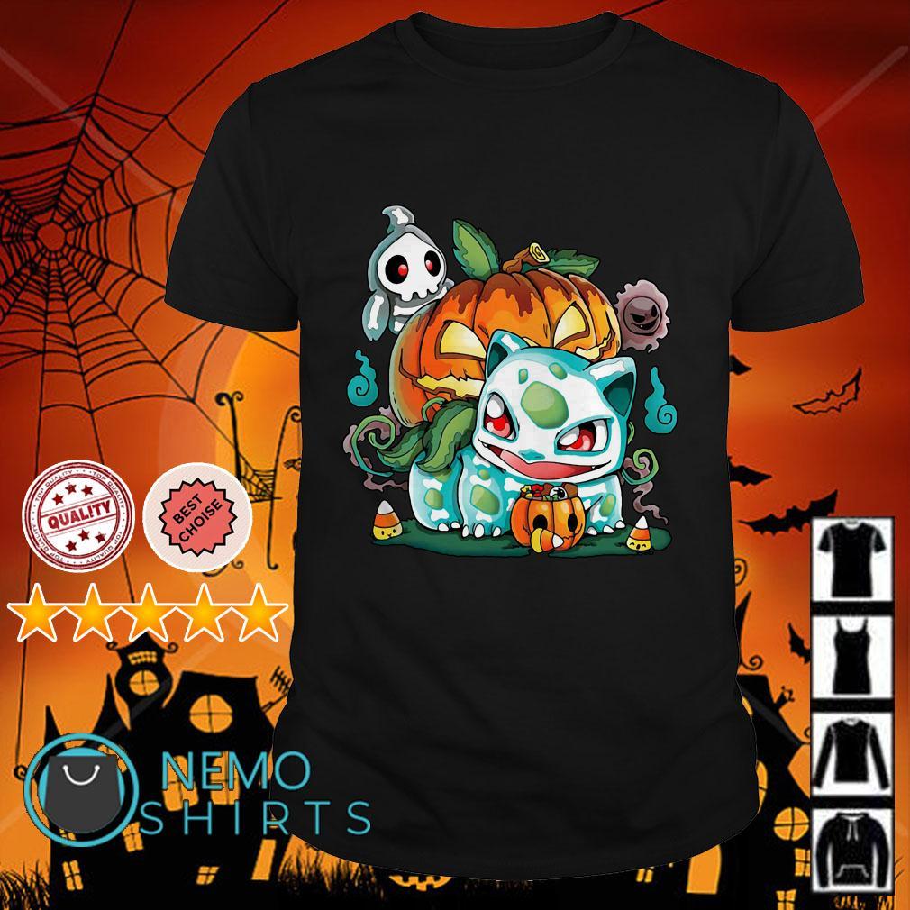 Bulbasaur pumpkin Halloween shirt