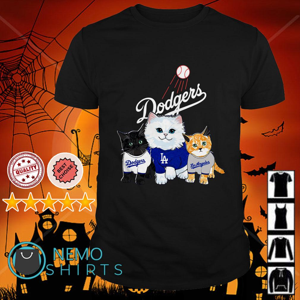 Cat Los Angeles Dodgers shirt