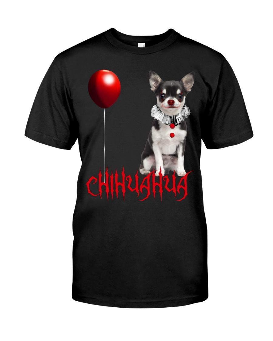Chihuahua Pennywise funny Halloween shirt