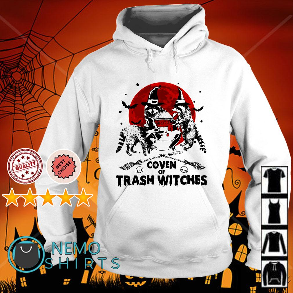 Coven of trash witches Halloween Hoodie