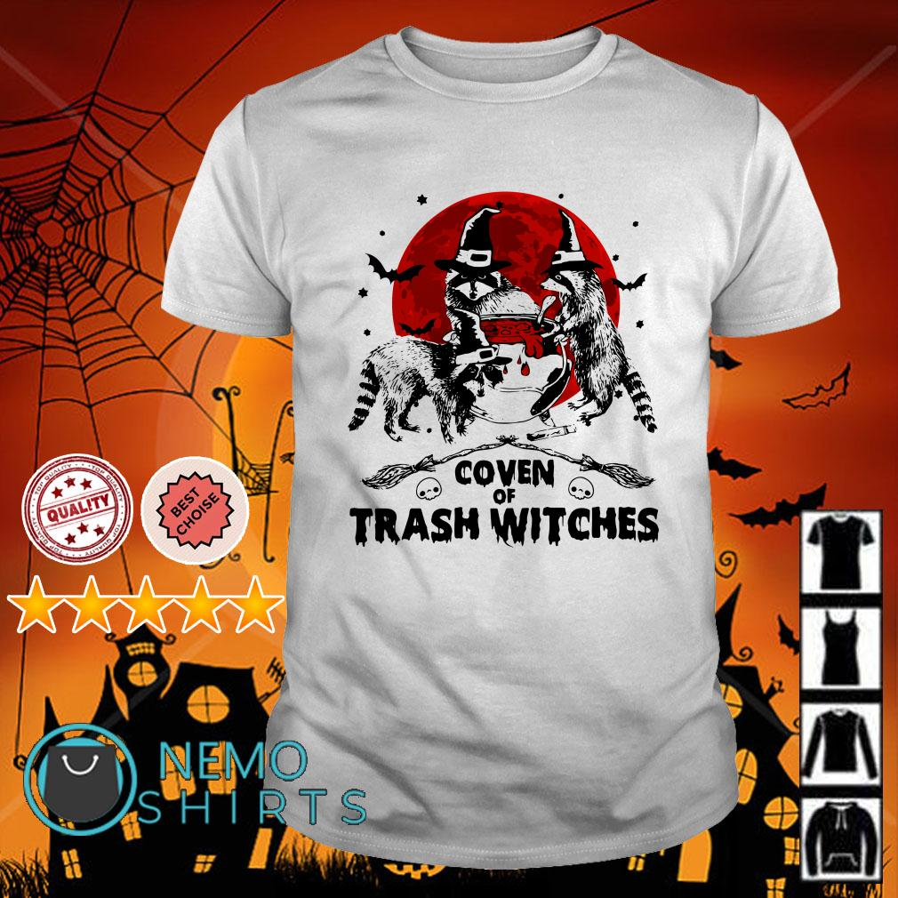 Coven of trash witches Halloween shirt