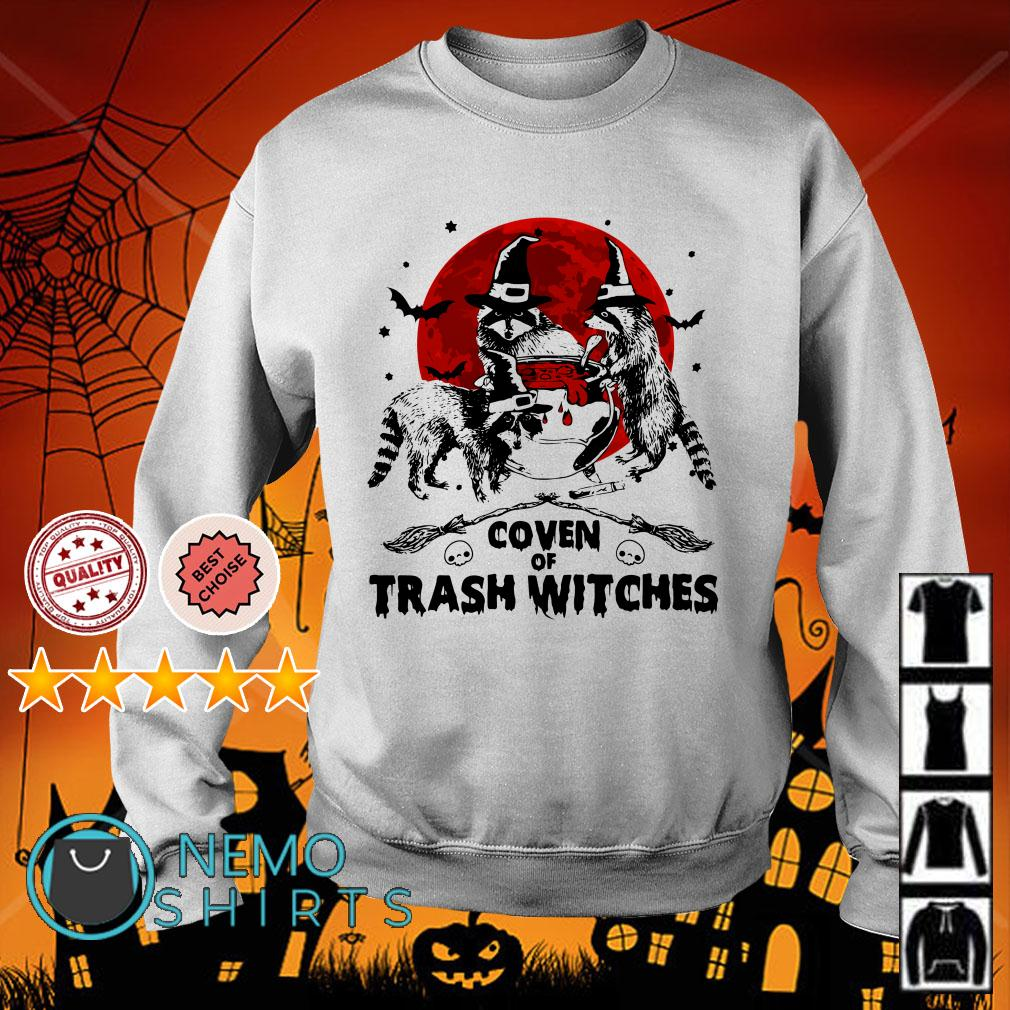 Coven of trash witches Halloween Sweater