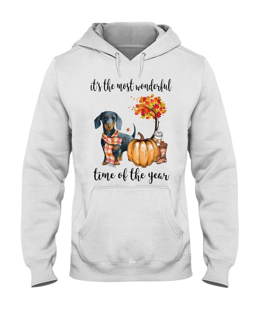 Dachshund and pumpkin it's the most wonderful time of the year Hoodie