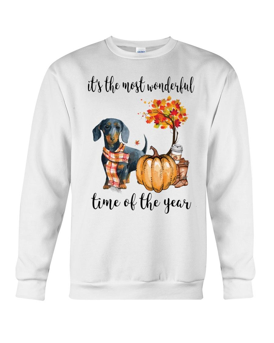 Dachshund and pumpkin it's the most wonderful time of the year Sweater