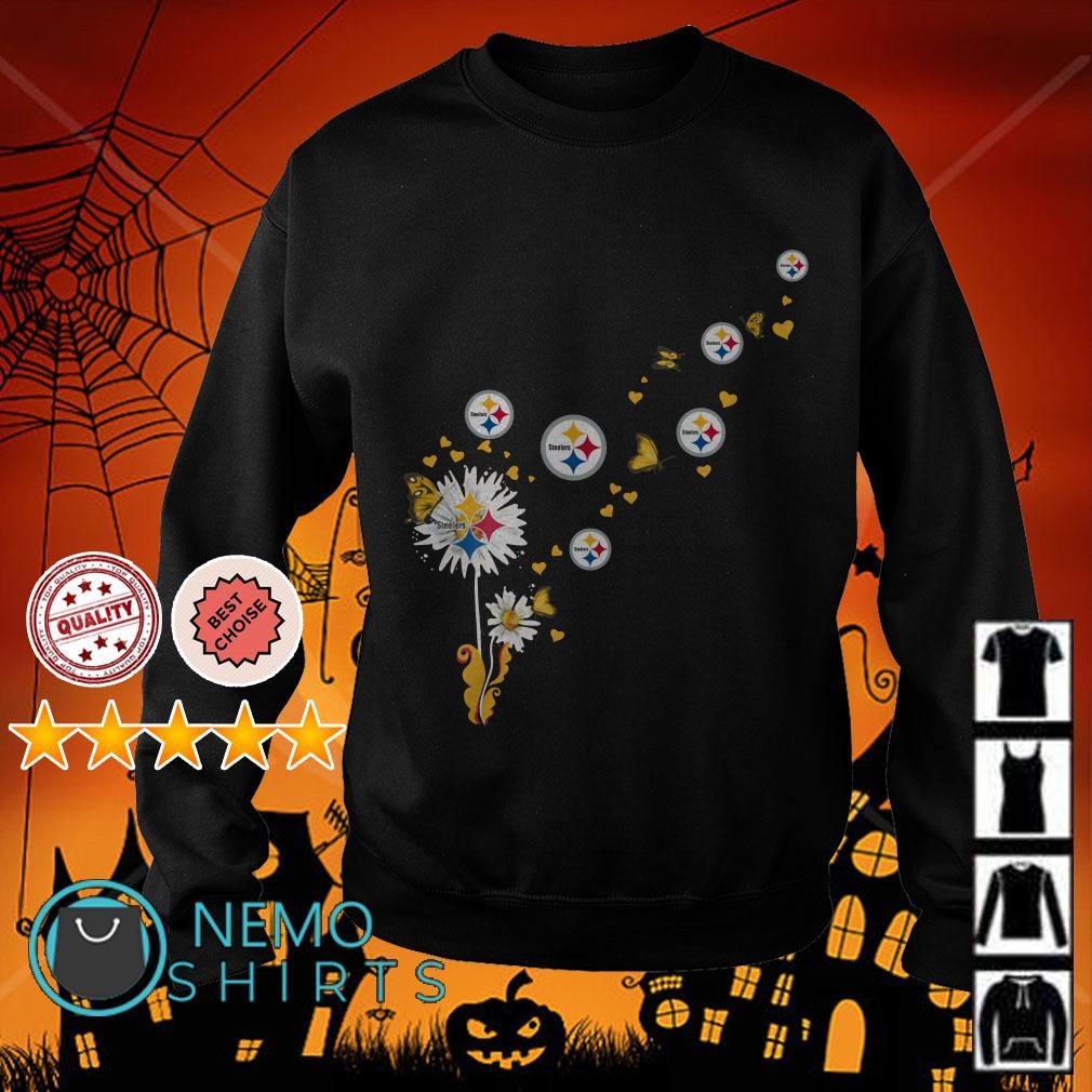 Dandelion Pittsburgh Steelers Butterfly Sweater
