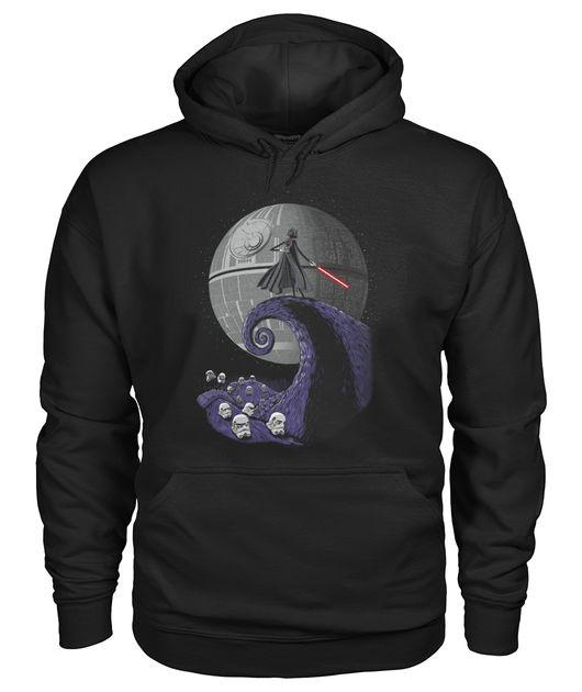 Darth Vader Nightmare before Christmas Hoodie