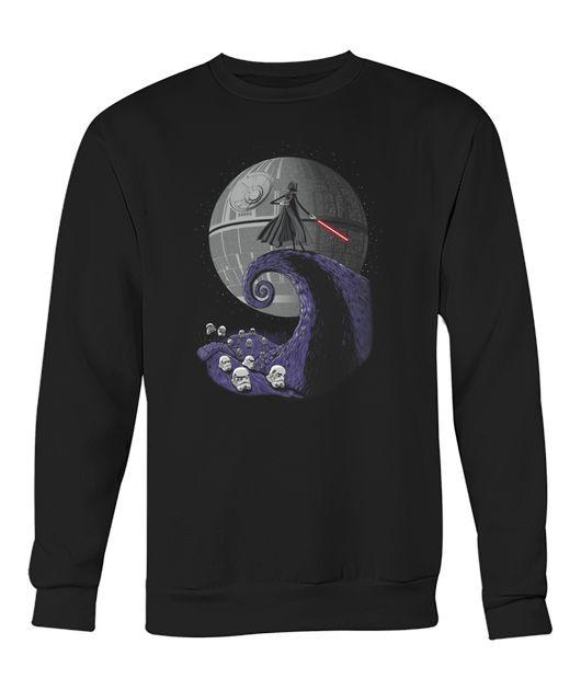Darth Vader Nightmare before Christmas Sweater