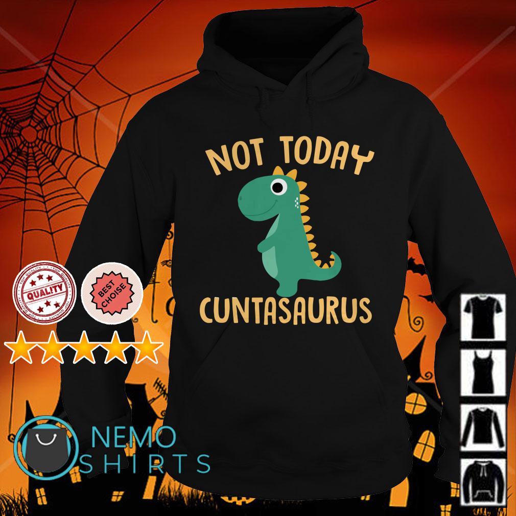 Dinosaurs Not Today Cuntasaurus Hoodie