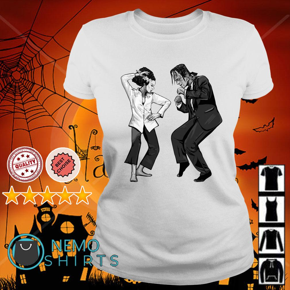 Frankenstein and The Bride Ladies tee