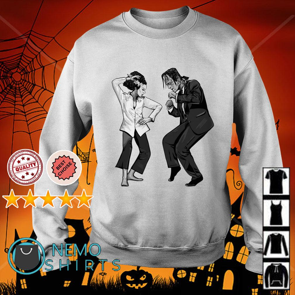 Frankenstein and The Bride Sweater