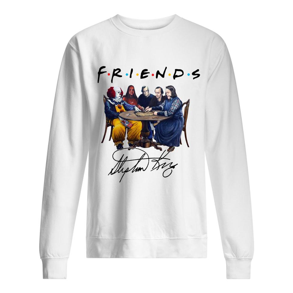 Friends Stephen King Pennywise IT signature Sweater