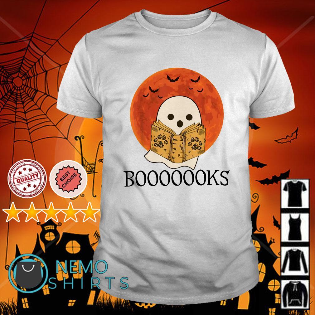 Ghost reading book boooooks shirt