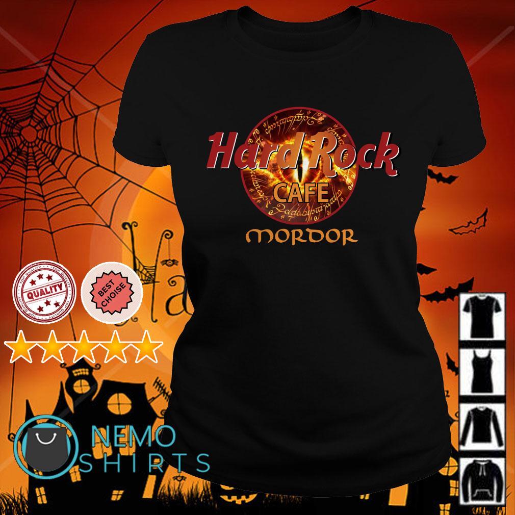 Hard rock cafe Mordor Ladies tee