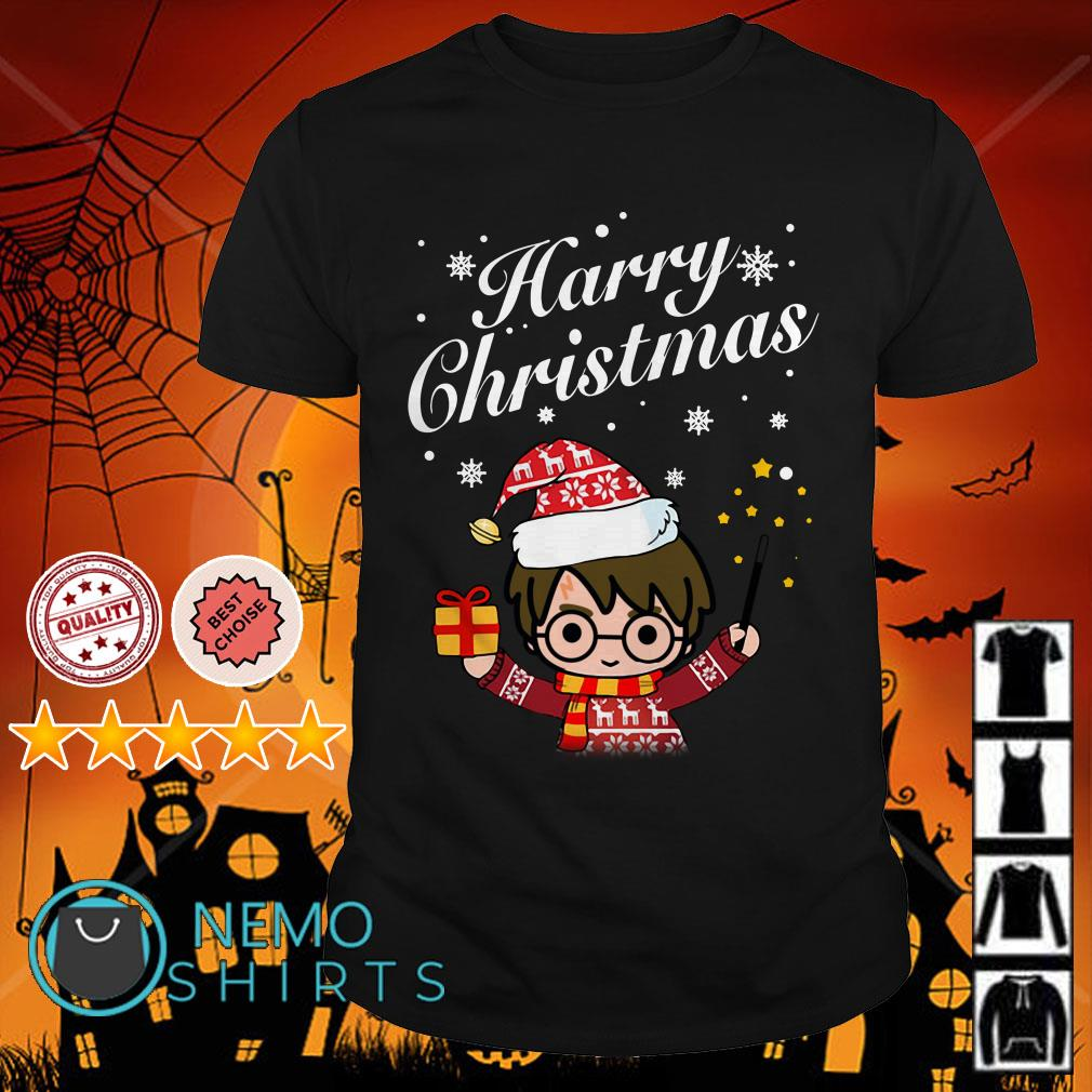 Harry Potter happy Chrismas shirt