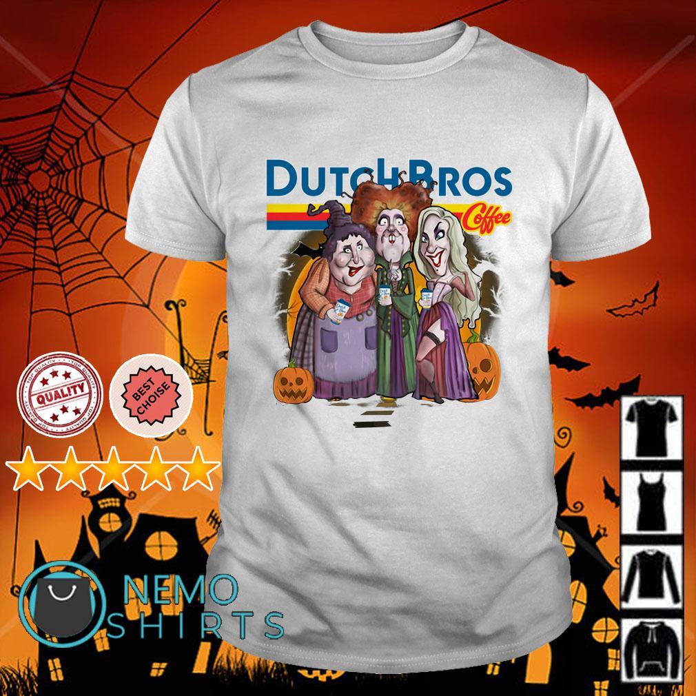 Hocus Pocus Dutch Bros coffee Halloween shirt