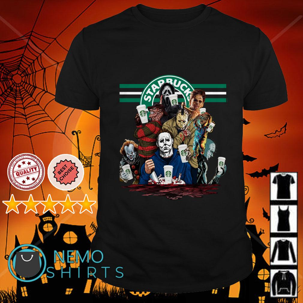 Horror Character Dutch Starbucks shirt