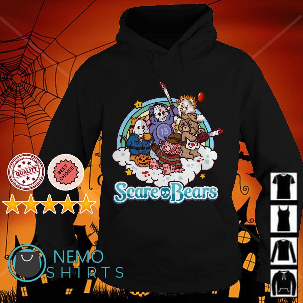 Horror characters Scare Bears Hoodie