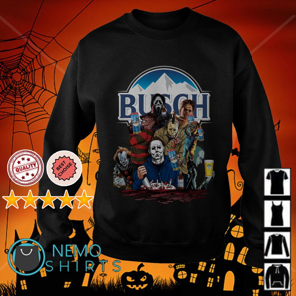 Horror movies character Busch Light Sweater