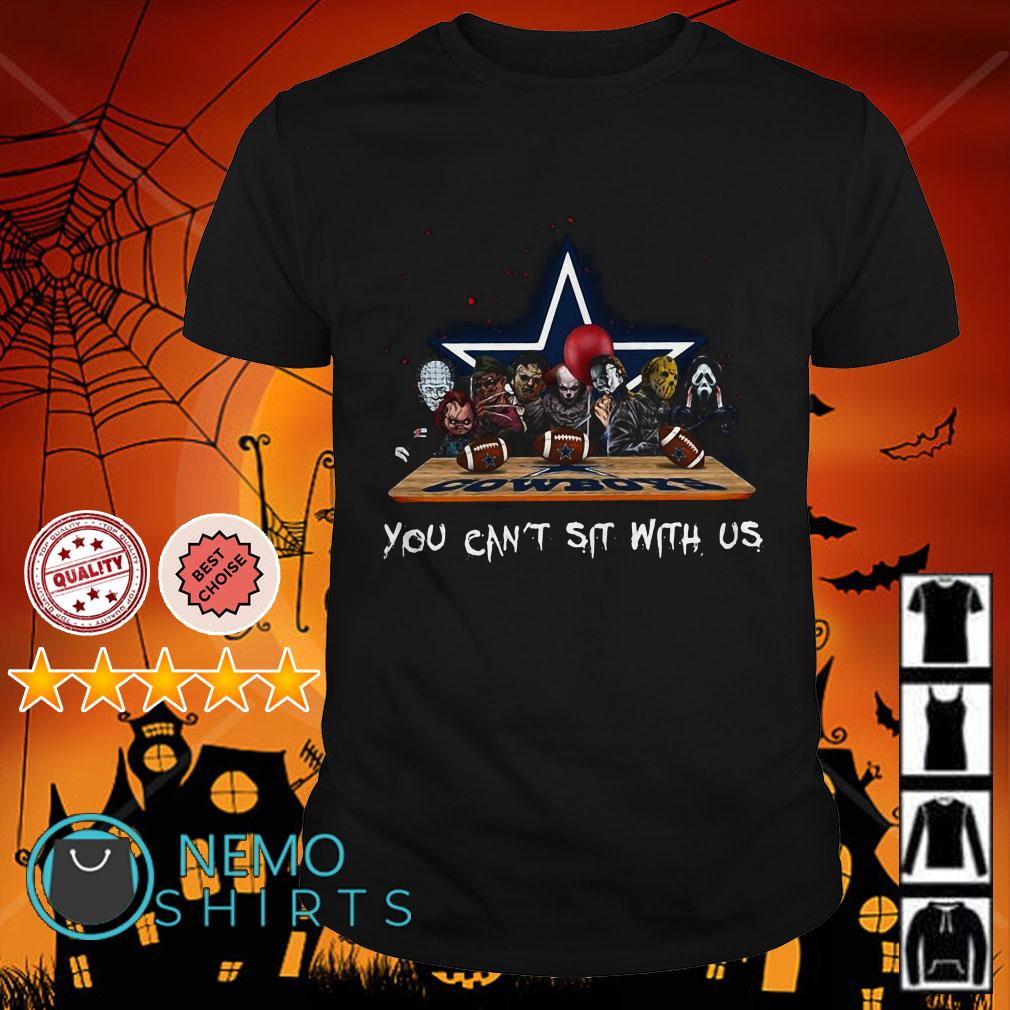Horror Movies Characters You Can Sit with US Dallas Cowboys shirt