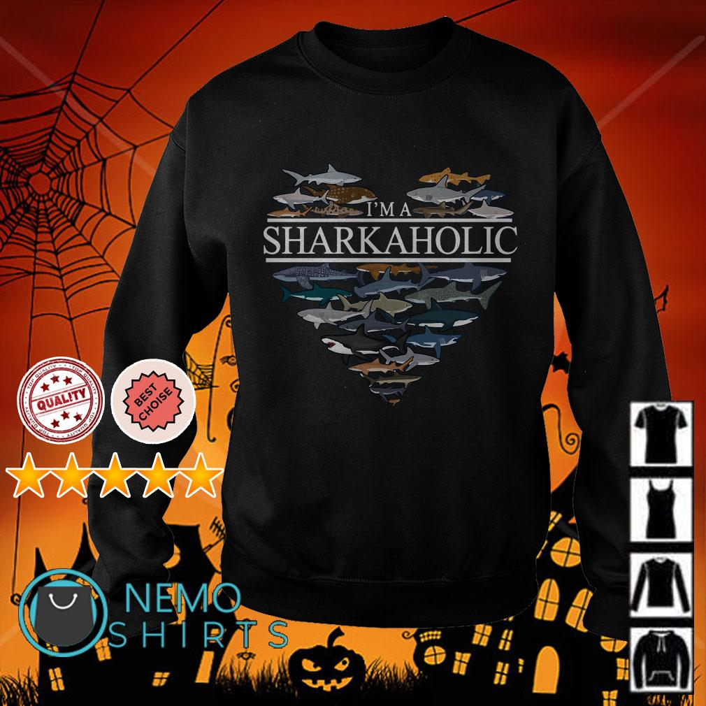 I'm sharkaholic Sweater
