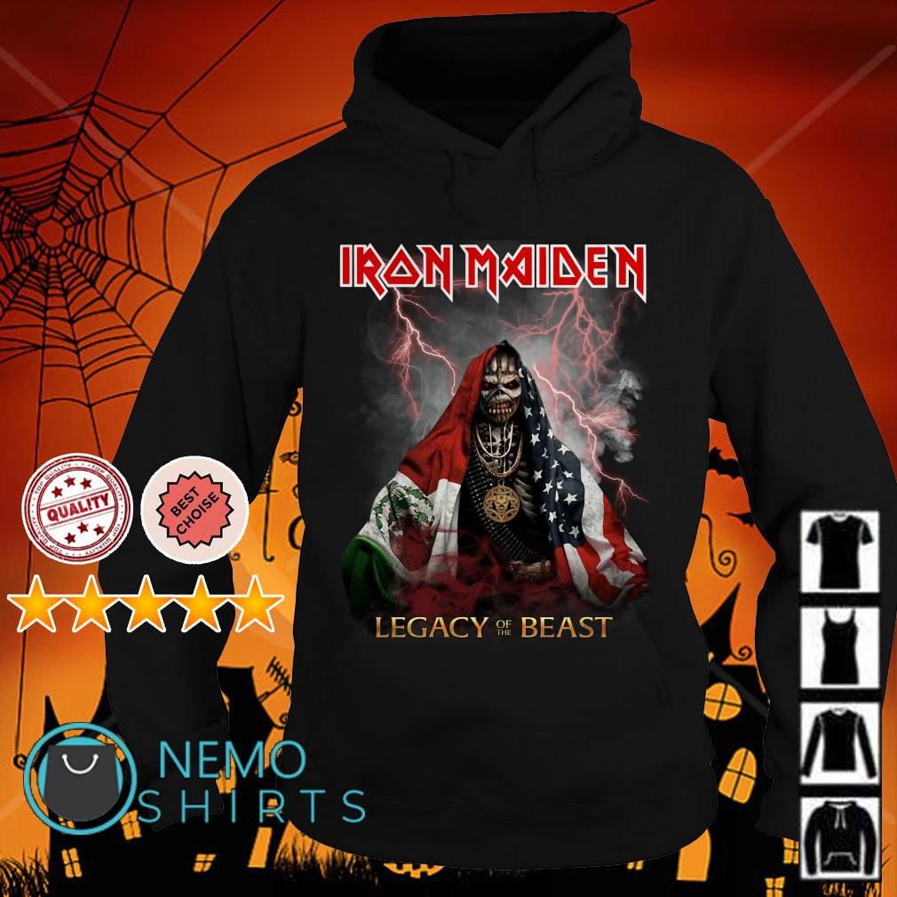 Iron Maiden Legacy of the beast Hoodie