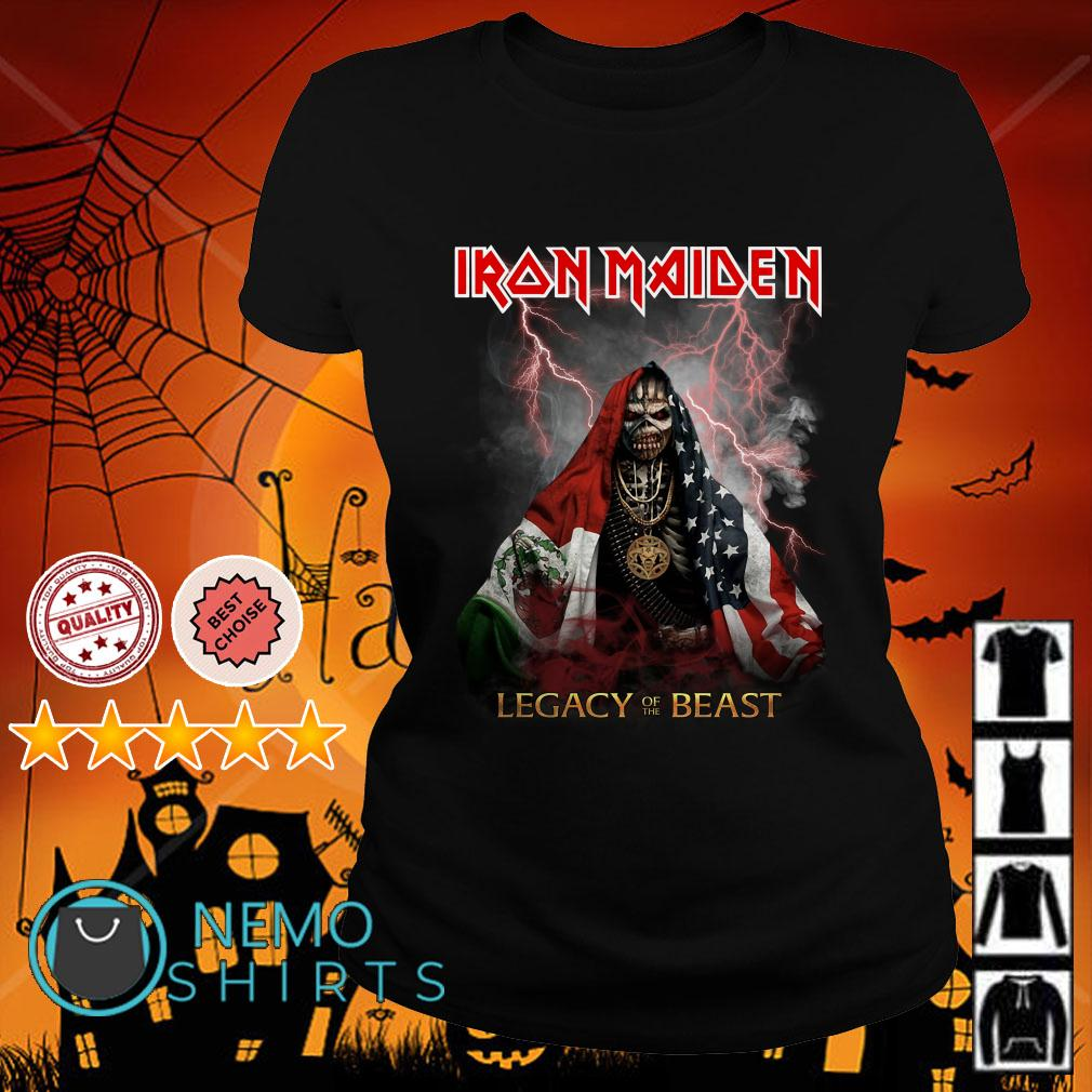 Iron Maiden Legacy of the beast Ladies tee